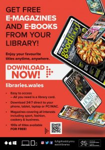 Poster for eMagazines and eBooks