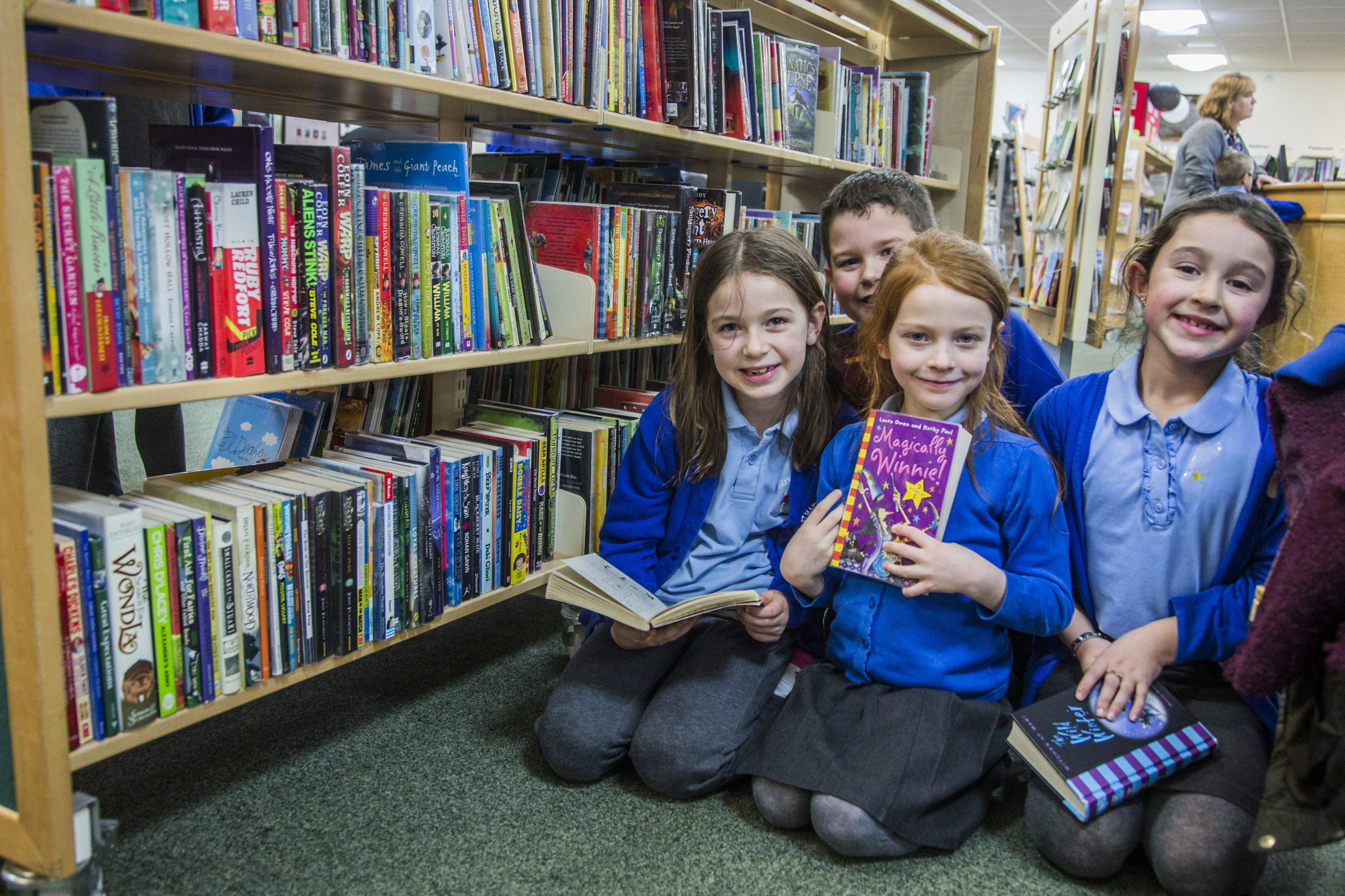 School Library Visit