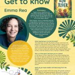 Provide more information about Author of the Month Emma Rea