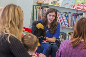 Storytime at Carmarthen Public Library