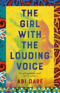 Book cover of The Girl with the Louding Voice