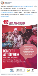 Dementia Action Week promoted on social media