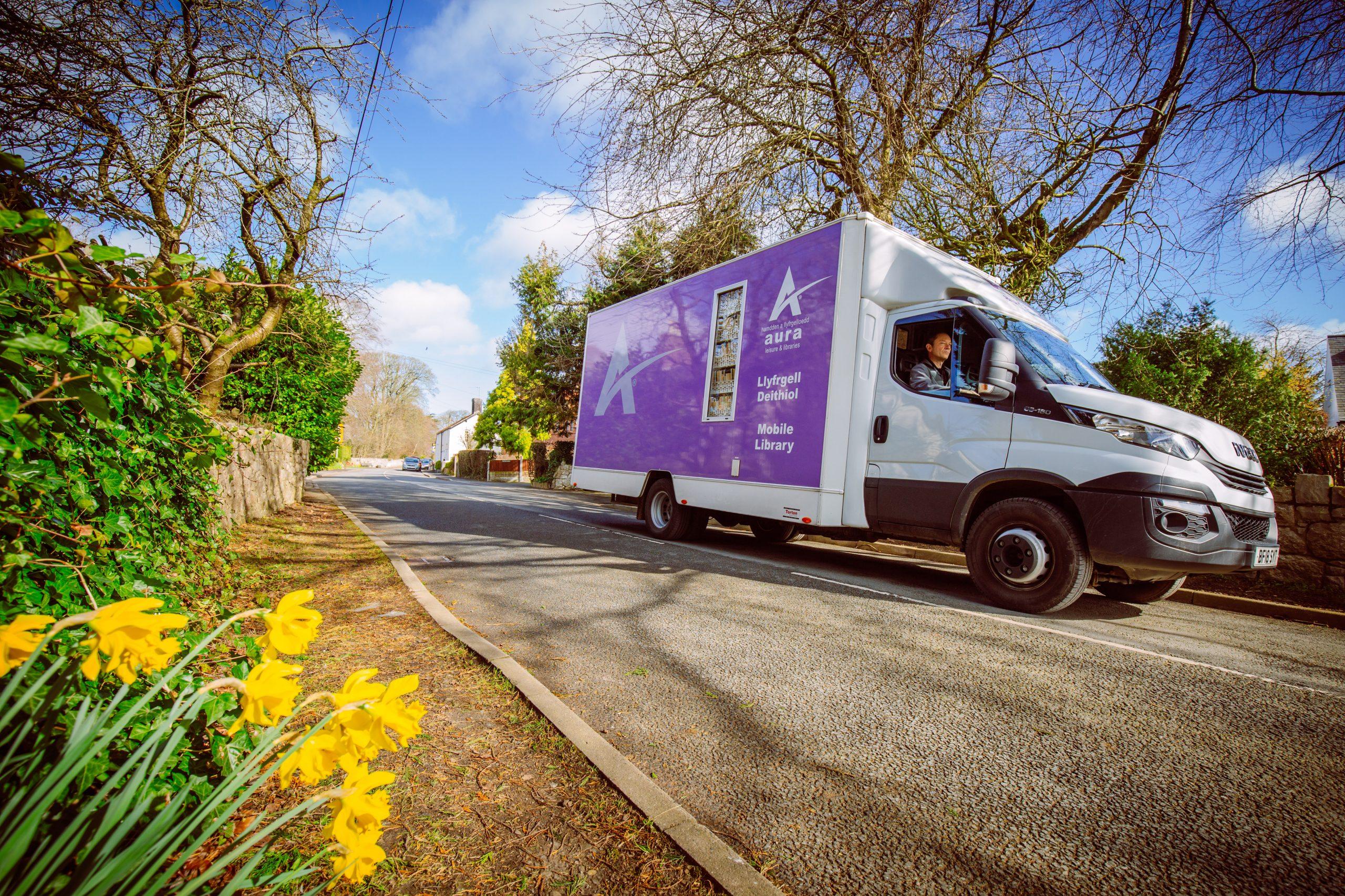 Aura Libraries Mobile Library Service Van