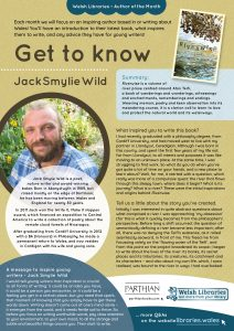 Get to know author Jack Smylie Wild poster