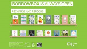 Borrowbox Health & Wellbeing titles