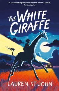 Book Cover image of The White Giraffe