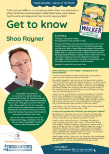 Get to know the Author Shoo Rayner Poster