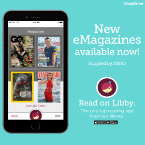 New eMagazines available now on Overdrive