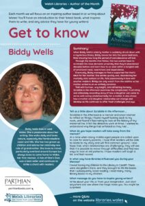 Get to know Author Biddy Wells