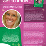 Author of the Month poster for Sharon Marie Jones