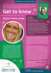 Poster Get to Know Author Sharon Marie Jones