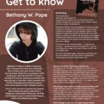 Get to know the Author Poster for Bethany Pope